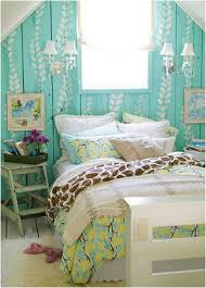 Preferential Attic Blue Bedroom Ideas For Teenage Girls With Vintage