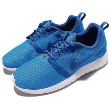 Details About Nike Roshe One Flight Weight Gs Rosherun Blue White Kid Youth Shoes 705485 406