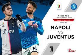 The coppa goes to napoli. Link Live Streaming Final Coppa Italia Napoli Vs Juventus