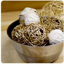 Decorative Balls For Bowl DIY Winter Decor 26