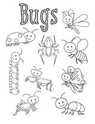 Small Picture bug coloring sheets preschool Google Search Story Quilt Crafts