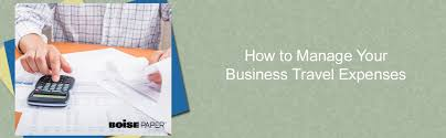 How To Manage Your Business Travel Expenses Bepapersmart