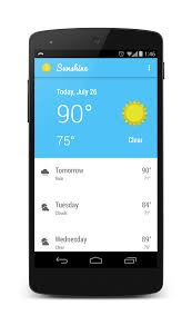 Android Weather App Design Github Tylermccraw Android Weather View A Beautiful
