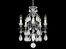 chandelier with swarovski crystals versailles rock crystal pendant lamp by schonbek