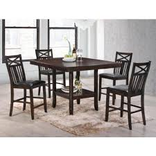 Large Picture of Meghan 2710 5 pc Counter Height Dining Set Room Sets