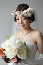 花嫁のヘアスタイル花冠 スタッフブログ 結婚式場 オ