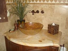 image of style granite countertop bathroom