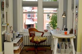 eclectic office furniture. Dc Metro Mahogany Home Office Furniture With Eclectic Wall Clocks And Small Space Storage H