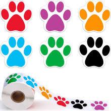 500 шт красочные лапы <b>детские наклейки</b> милые <b>Kawaii</b> собака ...