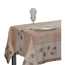 8 person dining table. 60 X 95-Inch Rectangular Tablecloth Beige Leaf, Stain Resistant, Washable, Liquid Spills Bead Up, Seats 8 To 10 People (Other Size Available: 63\ Person Dining Table