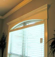 Arched Window Treatments U0026 Coverings  Budget Blinds  New Home Semi Circle Window Blinds