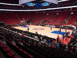Detroit Pistons Seating Chart Little Caesars Little Caesars Arena Section 106 Seat Views Seatgeek