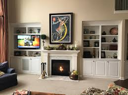 built ins around fireplace diy ideas nyc free standing how build shelves next with both sides