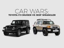 Toyota FJ Cruiser, Jeep Wrangler, SUV, car wars, car comparison