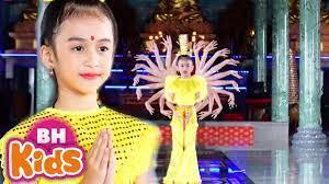 Tiếng Phạn Thần Chú Quan Âm - Bé Tú Anh - Nhạc Phật Thiếu Nhi - YouTube