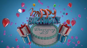 After Effects Template Happy Birthday Cake Lite 46325566