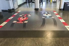 floor graphics printing installation