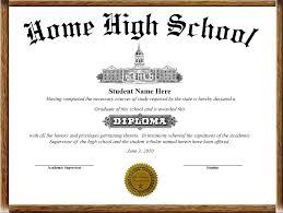 High School Deploma Home School Diplomas