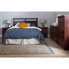 south shore headboard. Exellent South South Shore Versa Royal Cherry FullQueen Headboard And F