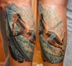 тату девушка серфингистка татуировки татушка