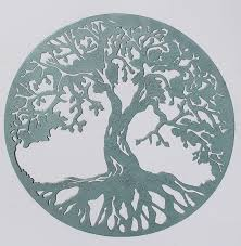 tree of life in verde green