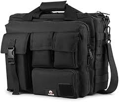 GES 15.6 inch Laptop Bag, Multi-funtion Men's <b>Outdoor Tactical</b> ...