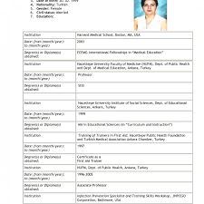 Resume Sample For Job Application Pdf Resume Template Example For Job Secretary Classic Full Impressivee 51