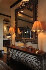 hallway table and mirror. Wrought Iron Entry Table Hallway And Mirror