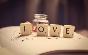 Book Love Word Letters Numbers Macro Wallpaper 1680x1050