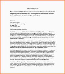 financial aid suspension appeal letter sample college financial aid appeal letter pdf free downnload