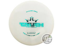 Details About New Dynamic Discs Lucid Truth 175g White Teal Foil Midrange Golf Disc
