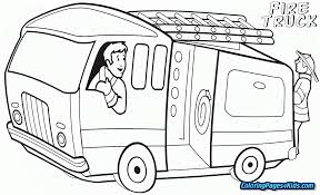Free Fire Truck Coloring Pages Printable Free Printable Coloring Pages