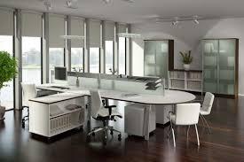 futuristic office desk. Interior. Futuristic Office Desk F