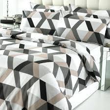 geometric duvet cover linens limited loft geometric print duvet cover set picture 2 of picture 3 geometric duvet cover