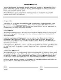 event agreement contract 32 sample contract templates in microsoft word