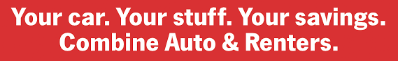 your car your stuff your savings combine auto ers