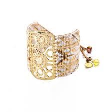 Dream Catcher Gold Bracelet Women's Dream Catcher Bracelet Mishky Jewelry 90