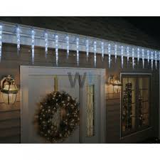 ge 19ct ling led ice crystal icicle set for indoor or outdoor lights