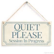 Meijiafei Quiet Please Session In Progress Functional Small Office