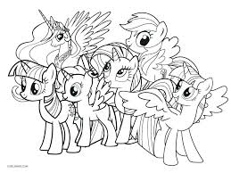 My Little Pony Movie Coloring Pages As Well Concept Ponies Pdf A