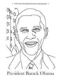 Small Picture Vote 2012 Presidential Election Coloring Book