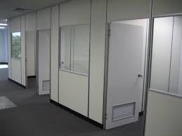Image Interior Doors Fitted With Door Grills Space Plus Easily Demountable Office Partitions In Gold Coast Ikcon