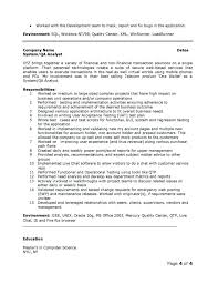 Teradata Resume Sample Cover Letter Developer Resume Sample Server