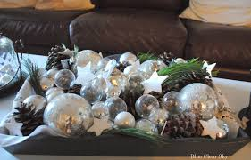 Coffee Table Tray Decor Decorations Simple Christmas Coffee Table Decoration Alongside