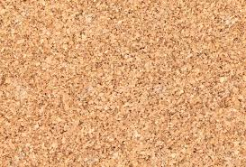 Cork Bulletin Board Empty Bulletin Board Background Texture Natural Cork Board Stock