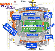 Lsu Stadium Seating Chart Visitor Section A Judgmental Seating Chart Of Memorial Stadium