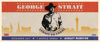 George Strait T Mobile Arena