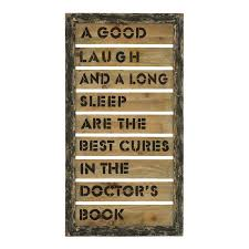 woodland imports 56002 wall decor with inspirational humor and laug  on wooden wall art inspirational quotes with woodland imports 56002 wall decor with inspirational humor and