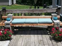 cinder block furniture. Cinder Block Furniture Backyard 48
