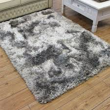 plush rug silver rug plush rug silver gy glossy ultra thick plush area rugs 8x10